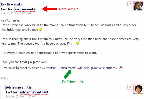 how to make dofollow backlinks