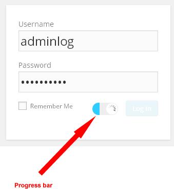 wordpress spam progress bar