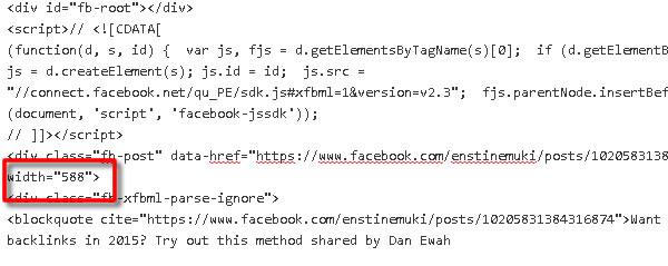 increase social shares facebook code