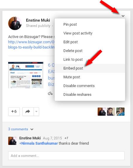 increase social shares google plus