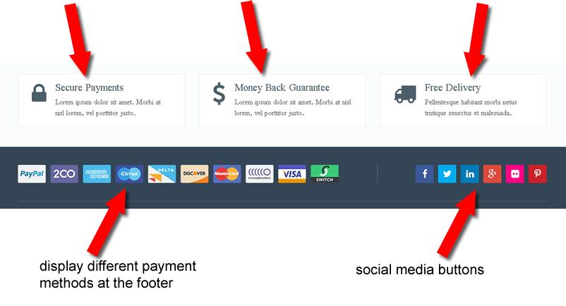 eCommerce Theme by MyThemeShop footer