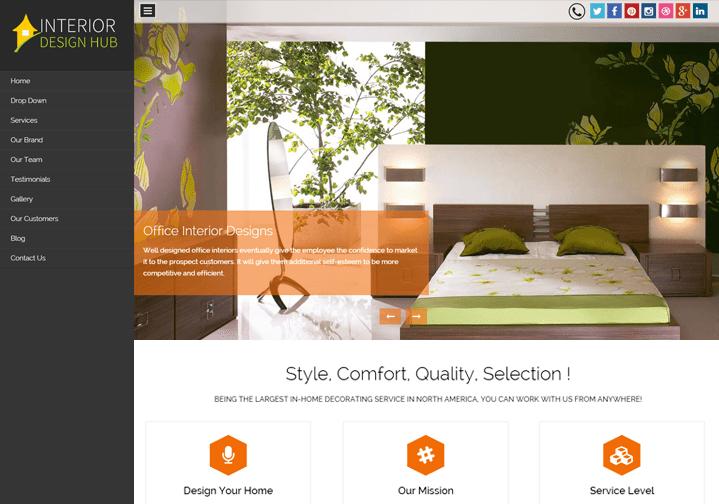 WordPress Theme For Interior Design