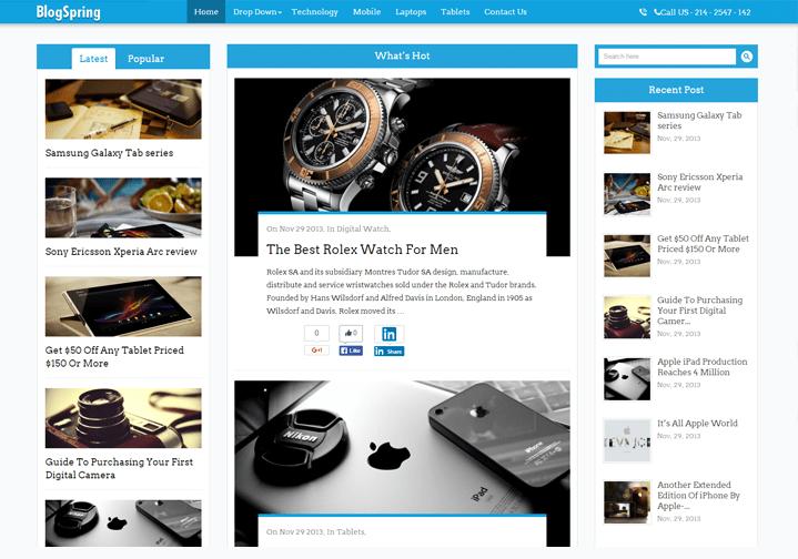 WordPress Theme For News