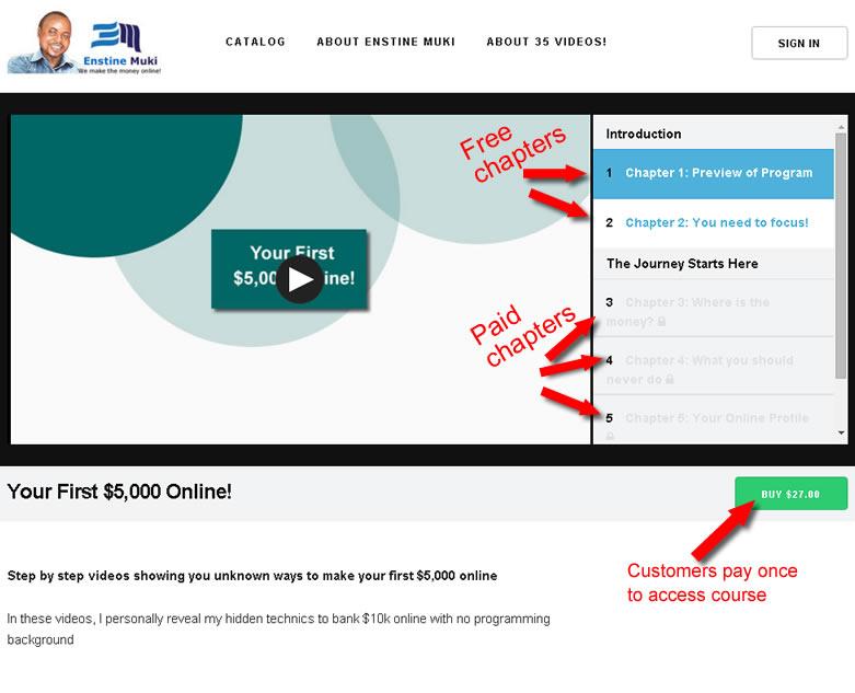 video distribution website
