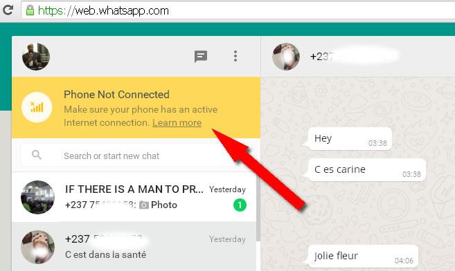 whatsapp web messenger