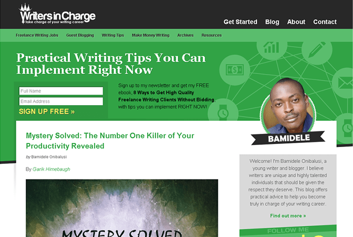 freelance writers writerincharge