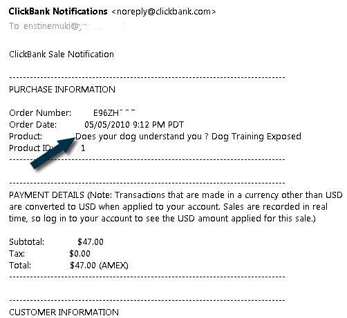 clickbank sales