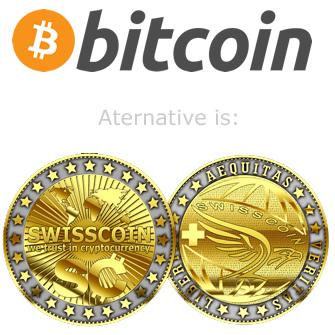 swisscoin bitcoin logo