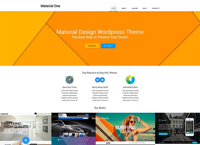 Web Design WP Theme