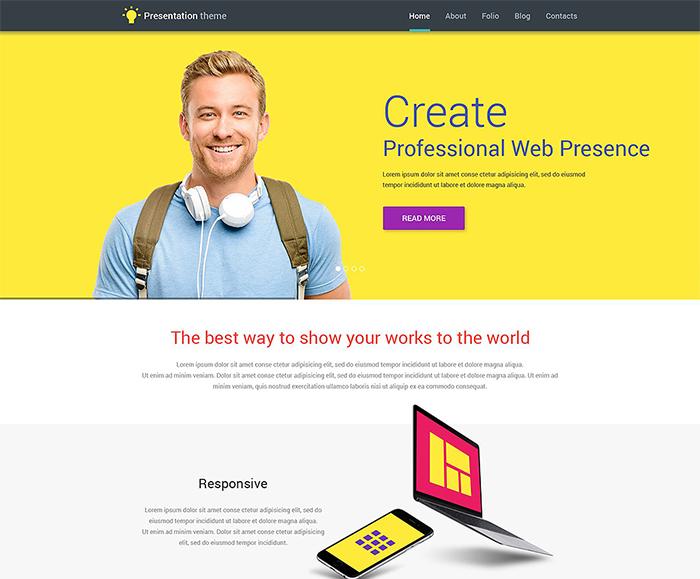 Web Design WP Template