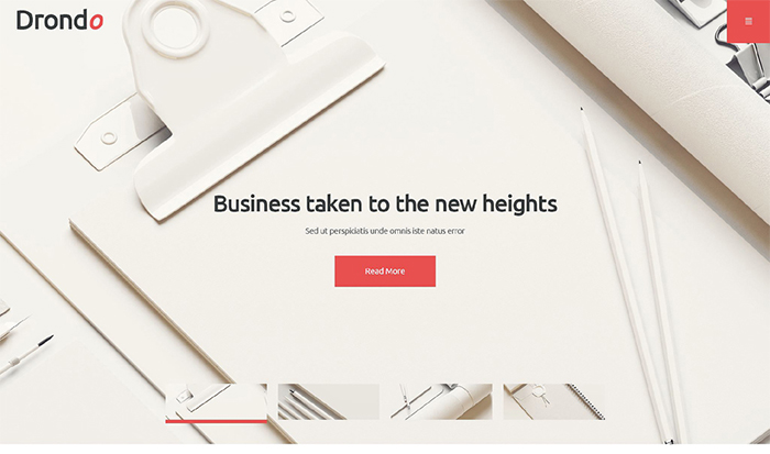 Drondo Corporate WordPress Theme