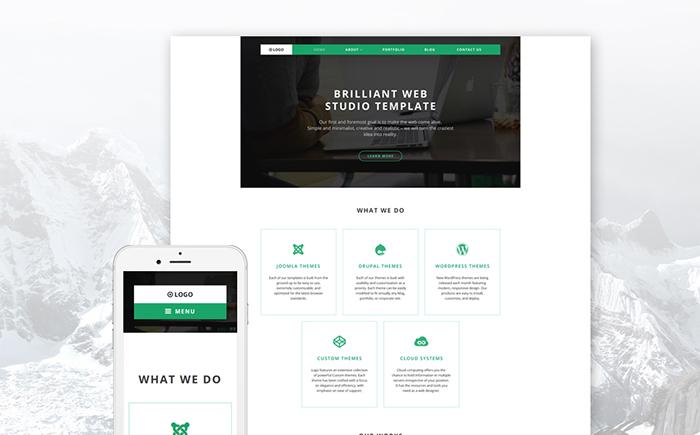 Web Design Company WP Theme