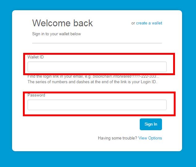 blockchain login security