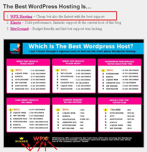 the best WordPress hosting