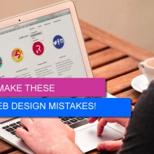 web design mistakes featured