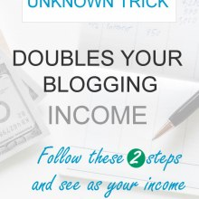 double bogging income