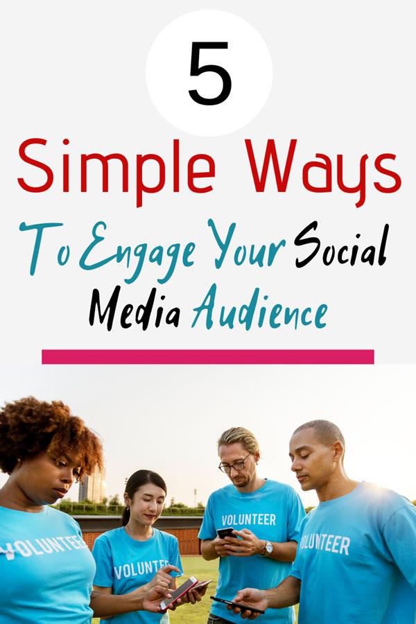engage social media audience