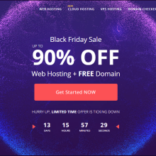 hostinger black friday discount