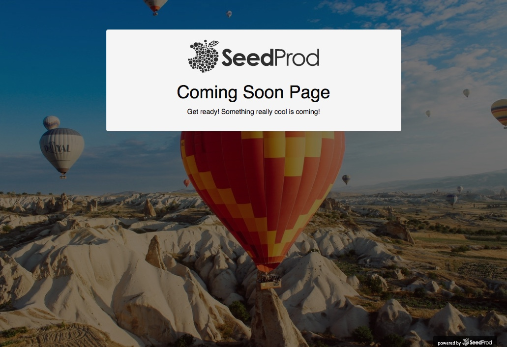 Seedprod coming soon