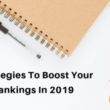 seo strategies to boost ranking in 2019