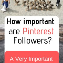 How important are Pinterest Followers