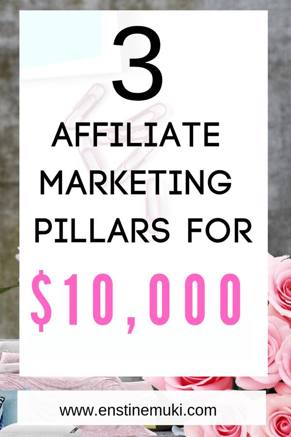 Affiliate Marketing tips, make money online, make money blogging,earn money home
