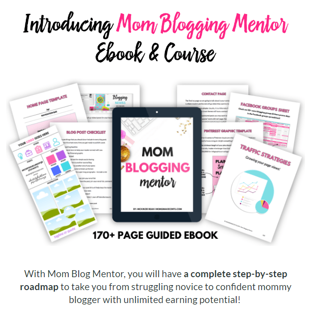 mom blog mentor