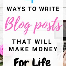 If you want to #makemoneyblogging, you must be able to create articles that make money. Some articles can make you money forever. These are 4 ideas to create articles that make money day in day out, for a long period of time