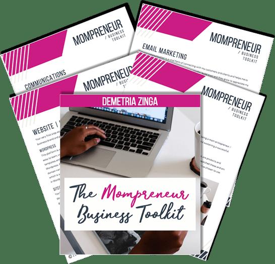 mompreneures website