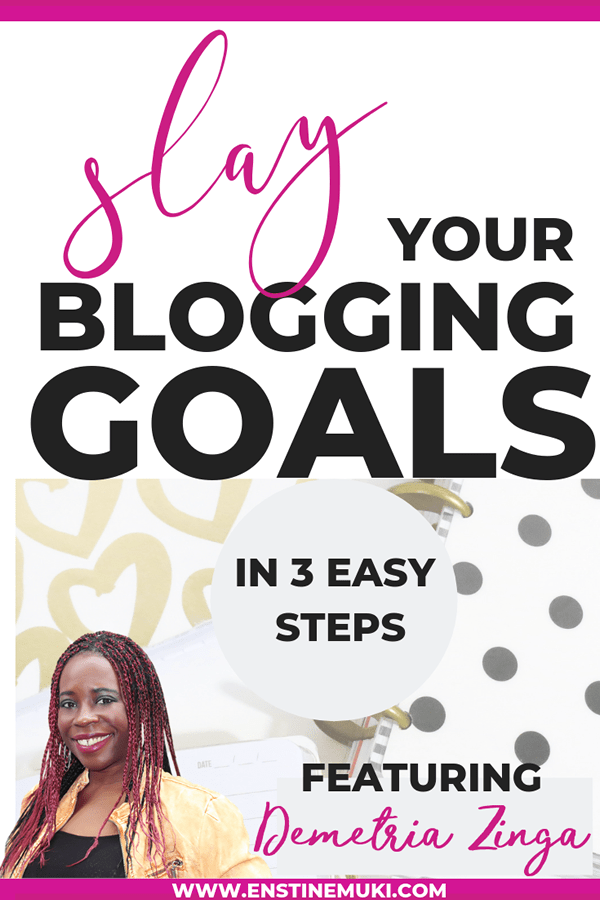 save your blogging goals in 3 simple steps #blogging #goals