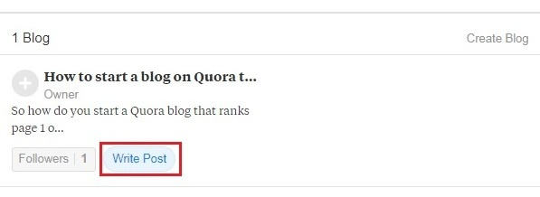 Creating A Blog Article on Quora