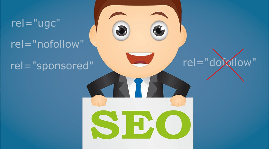 seo link attributes