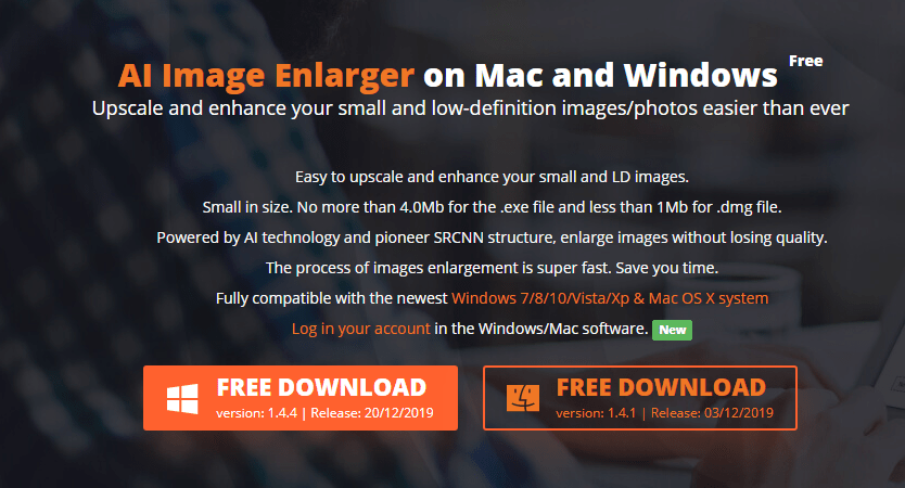 ai image enlarger