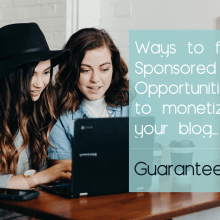 find sponsored posts