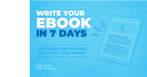 Write Your Ebook In 7 Days