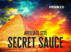Affiliate Site Secret Sauce