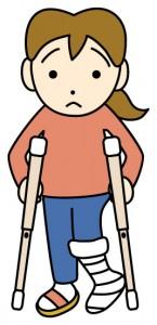 かかとを打撲した時に歩けない・治らない時の原因と治療法、テーピングも