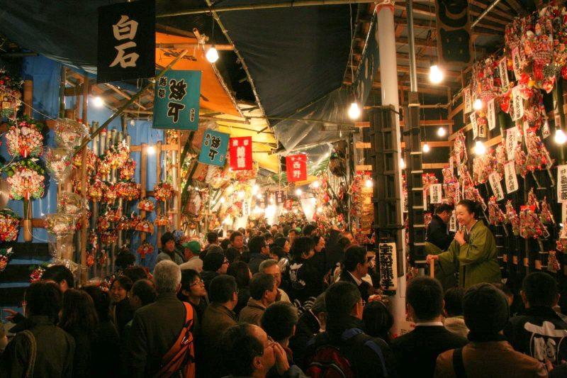 酉の市の2018年の日程や由来は?花園神社・浅草・新宿の場所や見所も