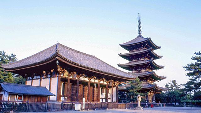 興福寺の御朱印と御朱印帳の時間・種類・場所は?見所やアクセスも