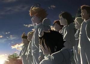 約束のネバーランドアニメの画像