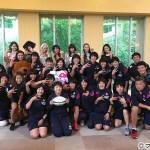 E-girlsが女子ラグビー日本代表サクラセブンズにサプライズ訪問! リオ五輪に向かっていざ、「出航さ!」