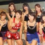 アップアップガールズ(仮)、女子総合格闘家のRENAから日本武道館公演に向けてパワーを貰う!