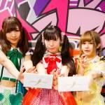 ポニーキャニオン所属アイドルがテクノスポーツ競技「HADO」アイドル対抗戦に挑む!バンドじゃないもん!が優勝し、世界3位の名誉を守る