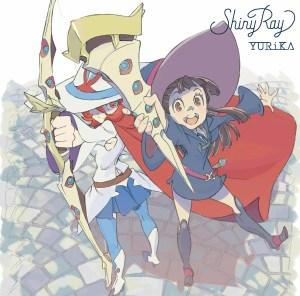 YURiKA 1st single「Shiny Ray」【アニメ盤(CD+DVD)】ジャケ写