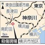 横浜の団地で3人殺傷!刺した男は転落死か!?