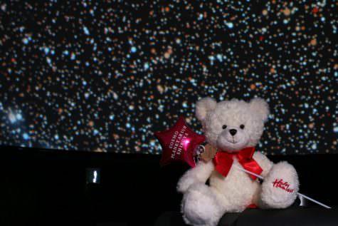 コスモプラネタリウム渋谷×ハムリーズ バレンタイン特別コラボ企画「ハムリーズベアと楽しむロマンティックバレンタイン」を開催