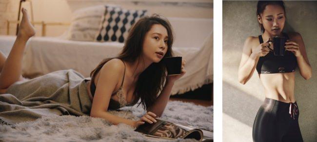 人気モデル「Niki」と話題のフィットネストレーナー 「田辺莉咲子」がCMで美ボディをおしげもなく披露!