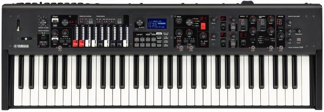 CPシリーズで好評のピアノ系音色に加え、新開発のVCMオルガン音源と鍵盤を搭載した次世代ステージキーボード ヤマハ ステージキーボード『YC61』