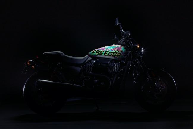 HARLEY-DAVIDSON®× GraphersRockコラボレーションバイクが遂に完成!全国10台のみの完全限定生産でオンライン受注開始。