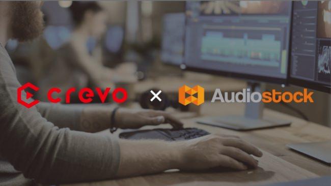 日本最大級のストックミュージックサービス「Audiostock」プロ動画クリエイターマッチングサービス「Crevo Jobs」との連携を開始